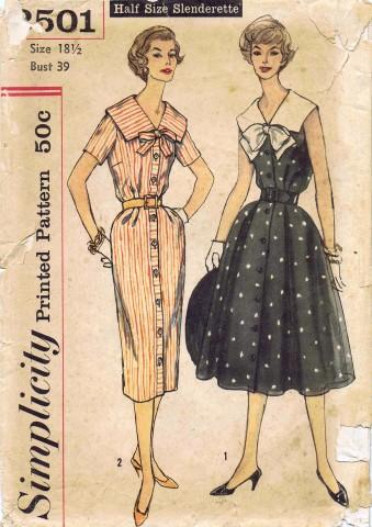 Simplicity 1958 2501