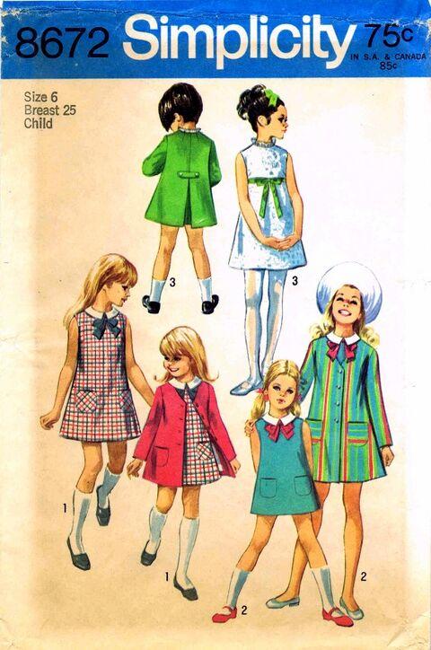 Simplicity 1969 8672