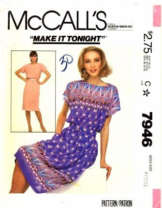 McCalls 1982 7946