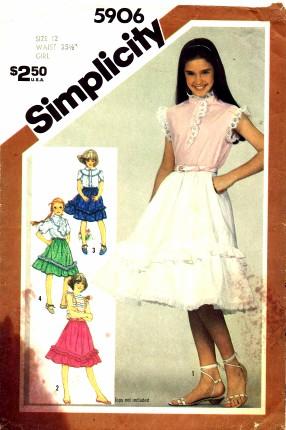 Simplicity 1983 5906