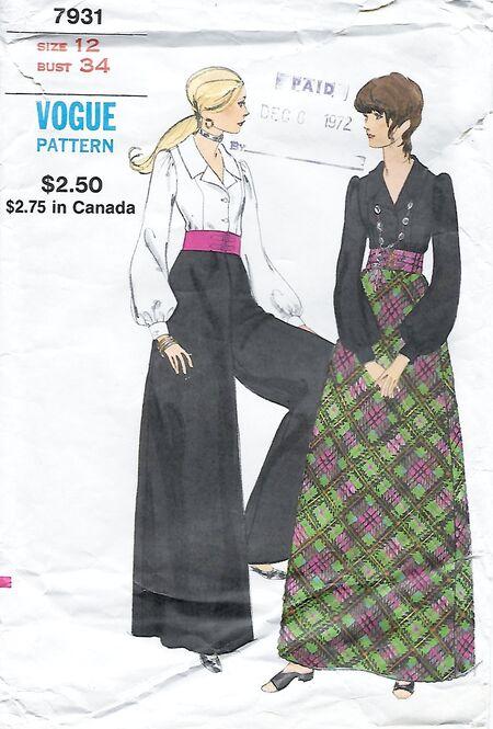 Vogue 7931-0