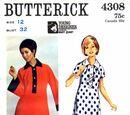 Butterick 4308 A