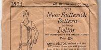Butterick 1823