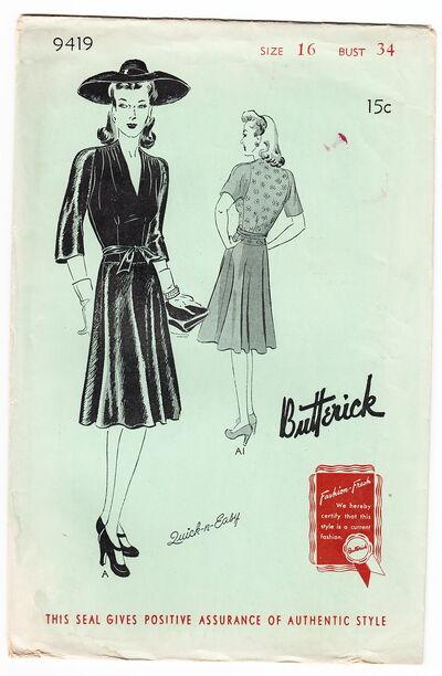 Butterick 9419a
