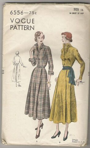 File:Vogue-6556-Dress-pattern-1949.jpg