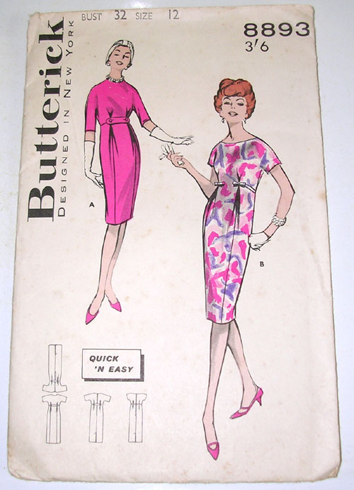 Butterick 8893 image