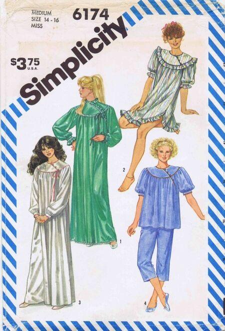 Simplicity 1983 6174