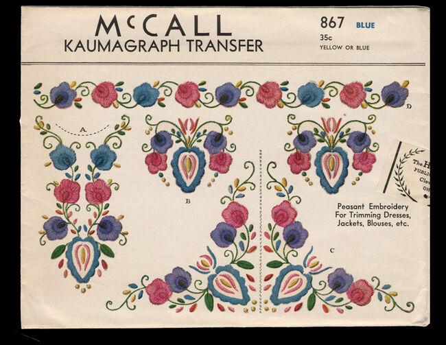 McCall 867 wiki