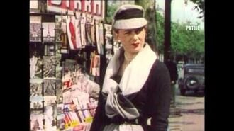 1950s Fashions in Paris - Real Vintage Fashion Footage