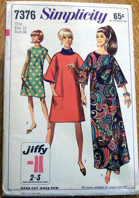 Vintage Artwear Patterns 057