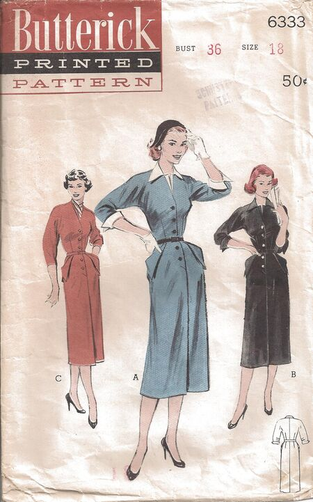 Butterick Pattern 6333 Front