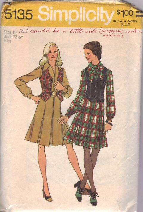 Simplicity 5135 front