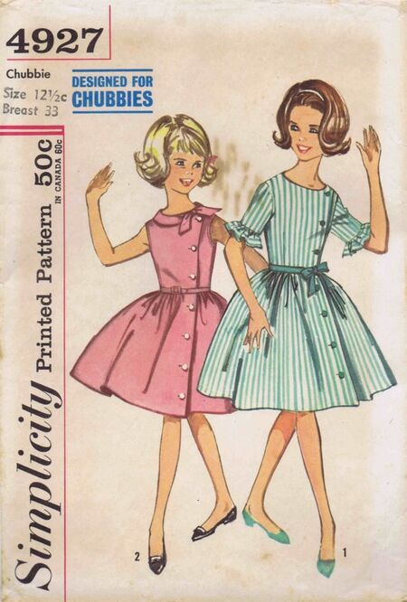 Simplicity 1963 4927