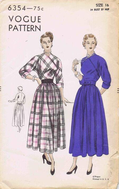 Vogue 1948 6354