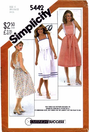 Simplicity 5442