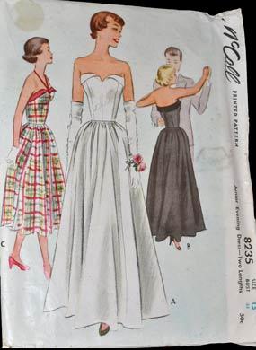 Vop-1559-wp-McCall-8235-vintage-pattern-formal-dress