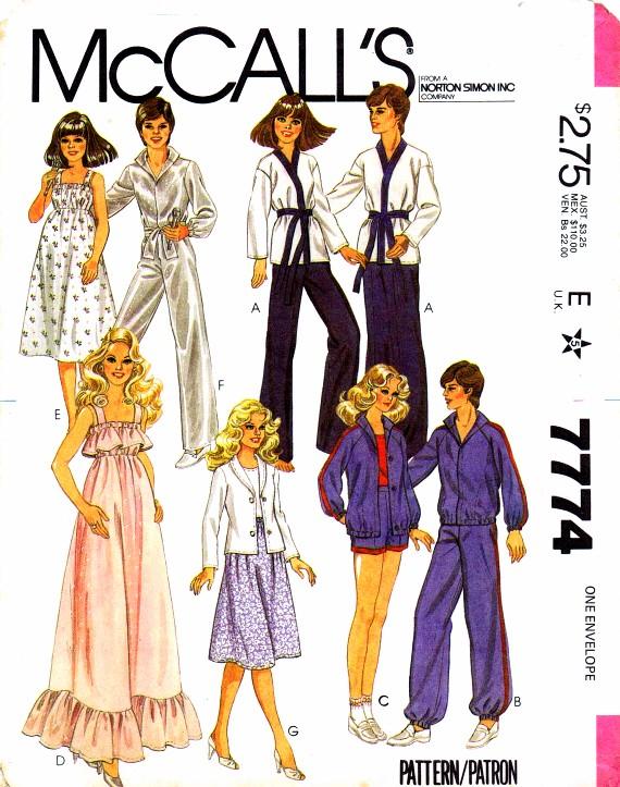 McCalls 1981 7774