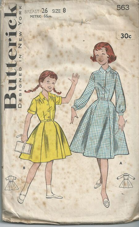 Butterick 563