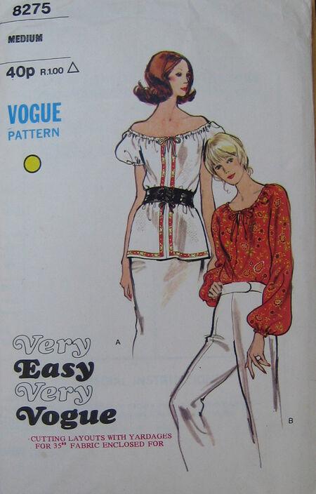Vogue 8275 image