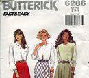 Butterick 6286 B