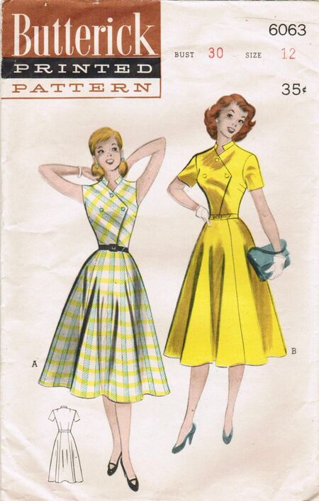 Butterick 6063 A image
