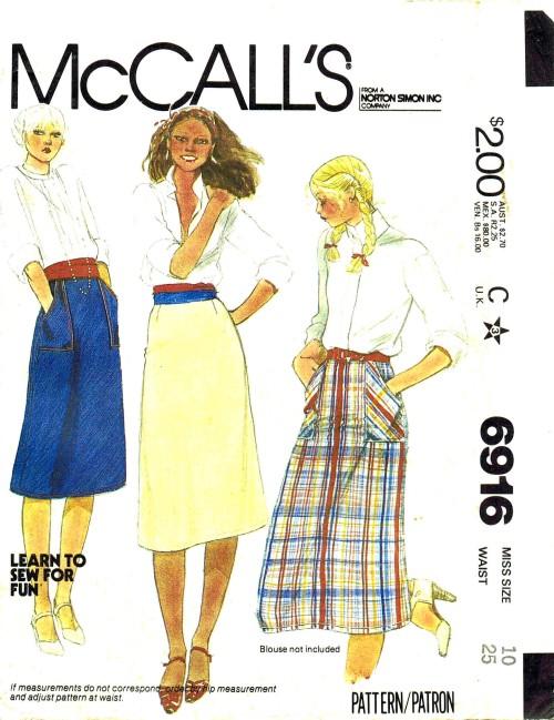 McCalls 1979 6916
