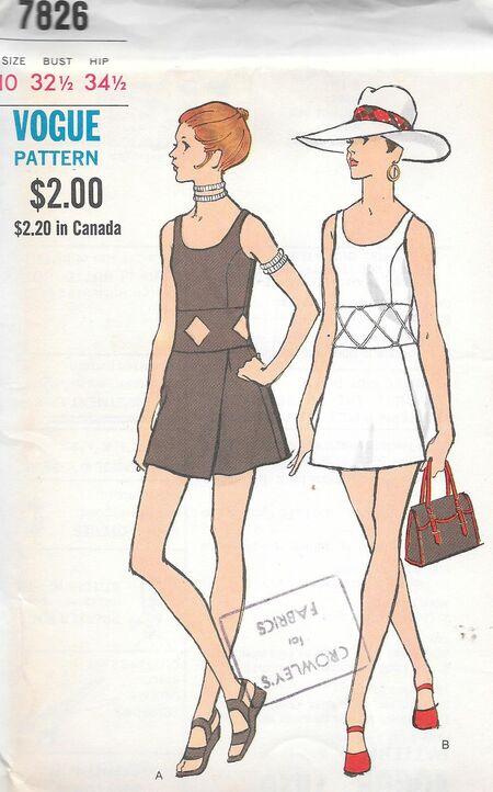 Vogue 7826
