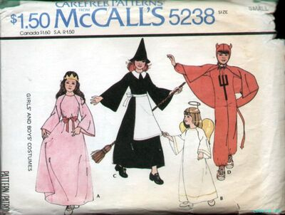McCalls 5238 Costume