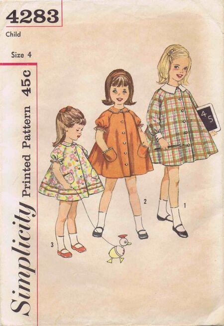 Simplicity 1962 4283