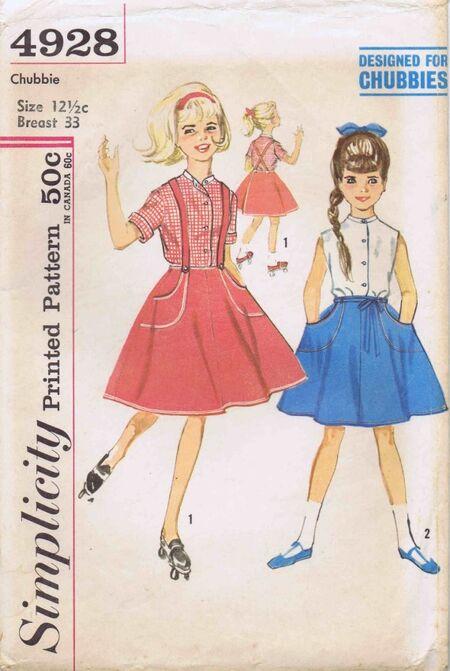 Simplicity 1963 4928
