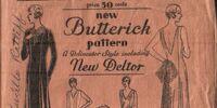 Butterick 3421 A