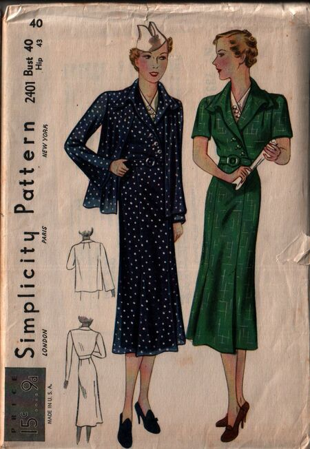 Simplicity 2401 front