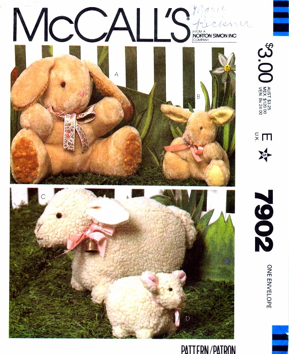 McCalls 1982 7902