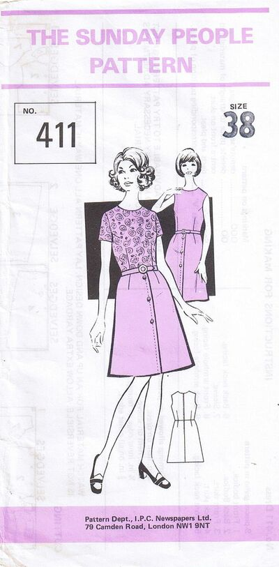 The Sunday People Pattern 411