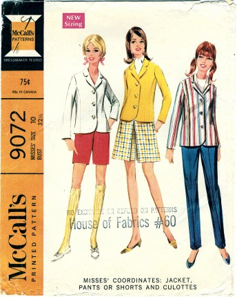 McCalls 1967 9072