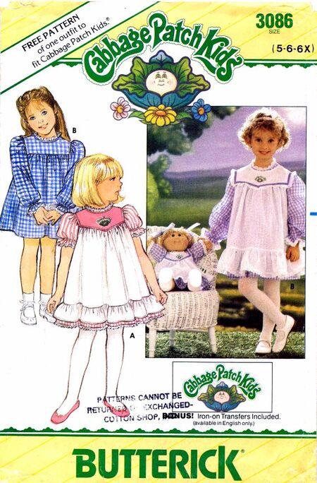 Butterick 1985 3086