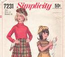 Simplicity 7231 A