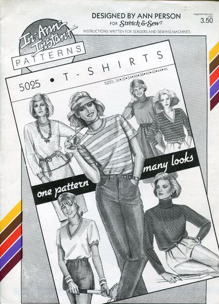 Stretch&sew5025tshirts