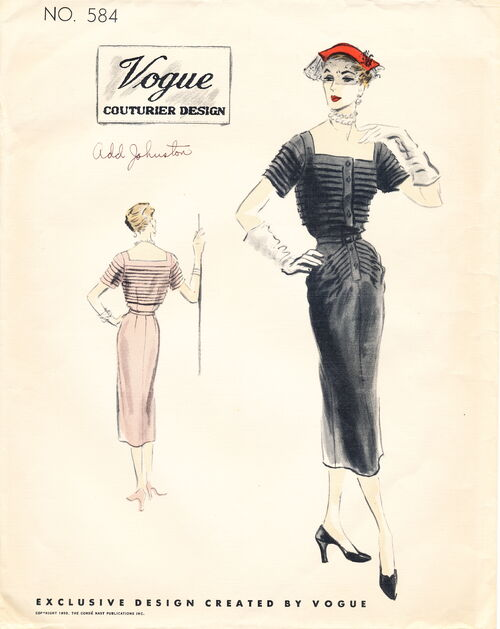 Vogue 584 (1950) scan