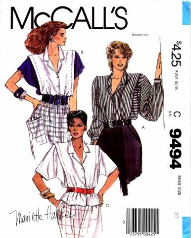 McCalls 1985 9494