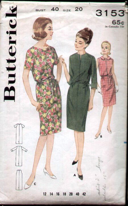 Butterick 3153 image