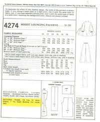 Mccall's 4274back