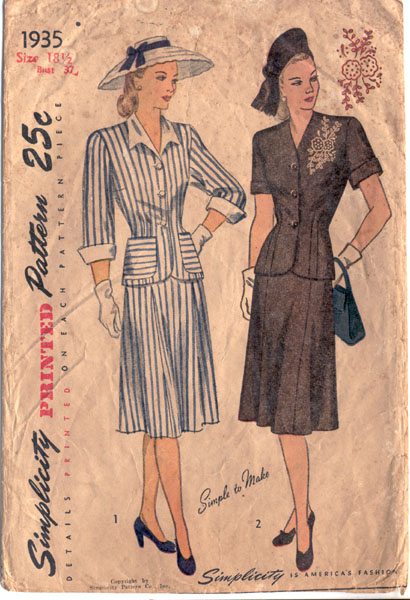 Simplicity 1935 a