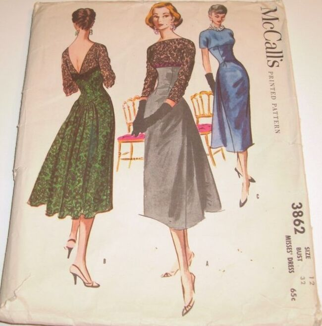 McCall's 3862.1952