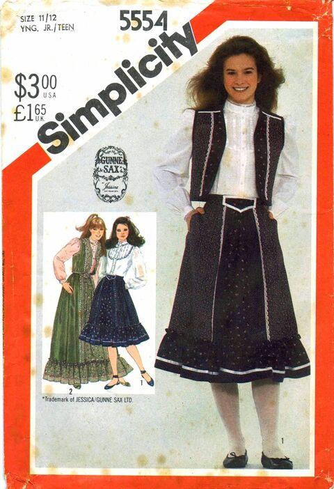 Simplicity 1982 5554