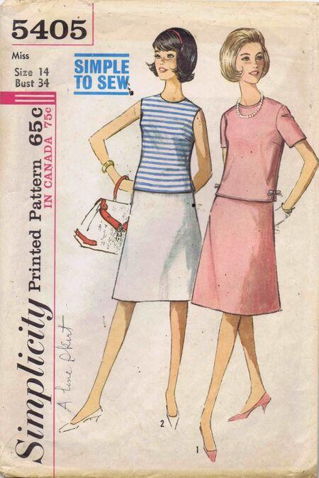 Simplicity 1964 5405