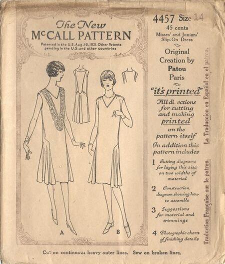 Mccall4457A