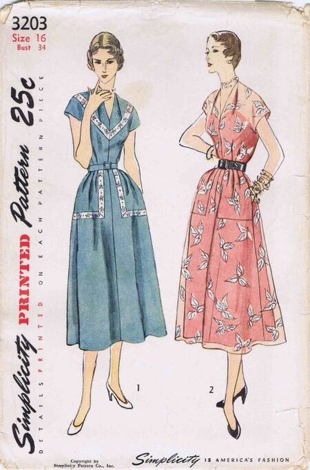 Simplicity 1950 3203