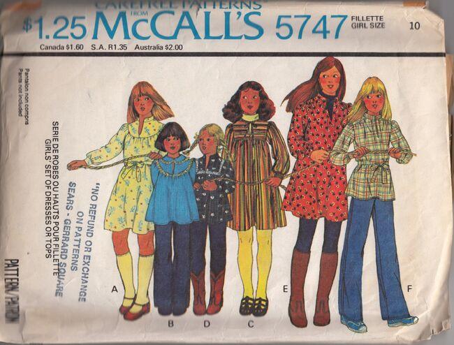Mccalls 5747