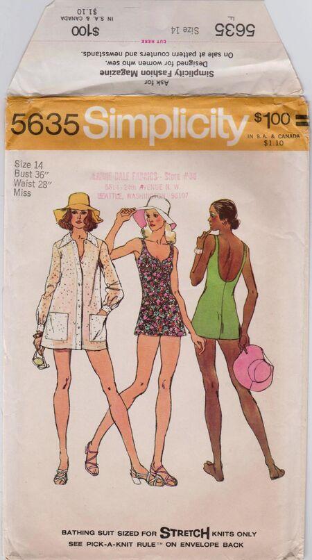 Simplicity 5635